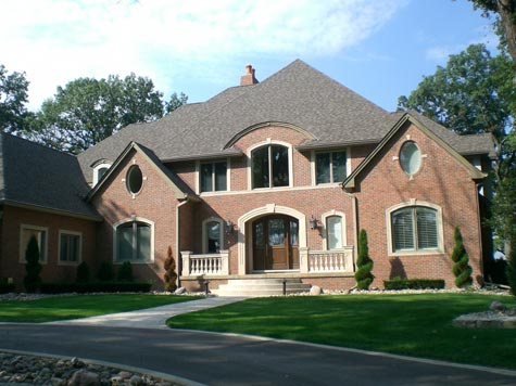 Custom Home Saint John Indiana 46373